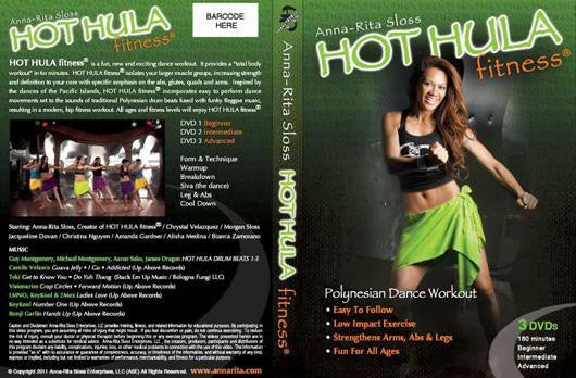 HOT HULA fitness® 3-DISK DVD Set