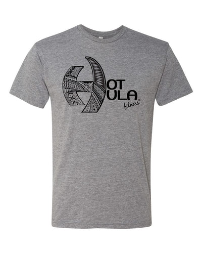 HOT HULA fitness® Logo T-Shirt - Grey