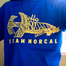 HOT HULA fitness® NorCal T-Shirt - Blue