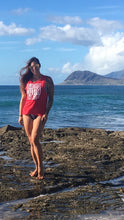 HOT HULA fitness® Limited Edition Logo Muscle-T - Red