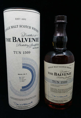 Balvenie Tun 1509 Batch No. 4 Single Malt Whisky