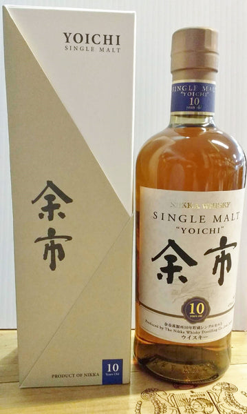 Nikka Yoichi 10 year old single malt Japanese whisky