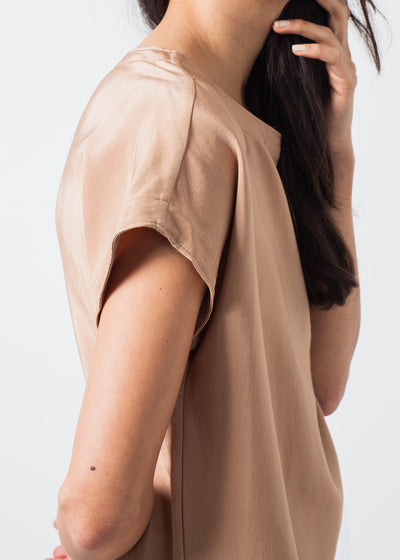 Philomene Dress in Camel