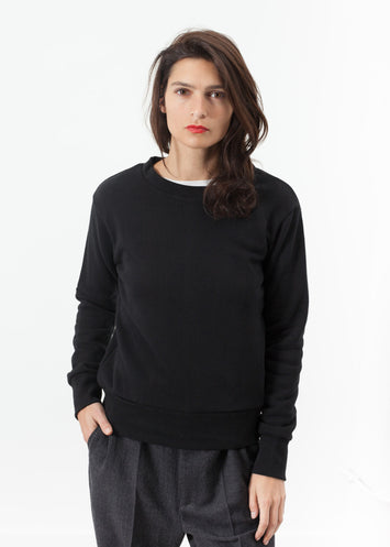 Loopwheeler Sweatshirt in Black