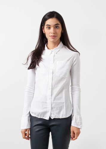 Soft Sleeve Button Up