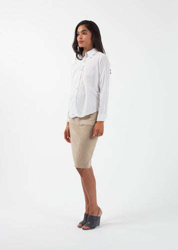 Contrast Boy Shirt