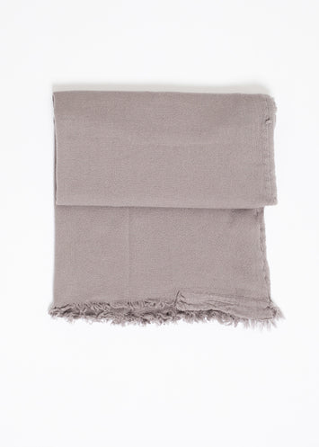 Simple Scarf in Grey