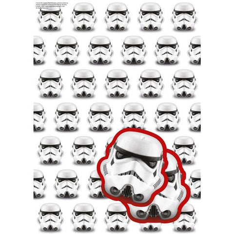 Stormtrooper Wrapping Paper Tags