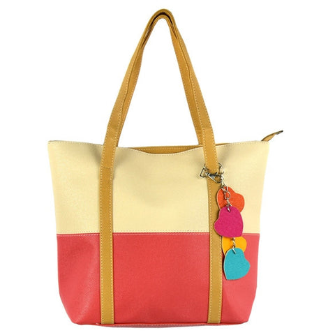 New Fashion Cute Women Girl Candy Color Leisure Handbag Purse Shoulder Tote Bag