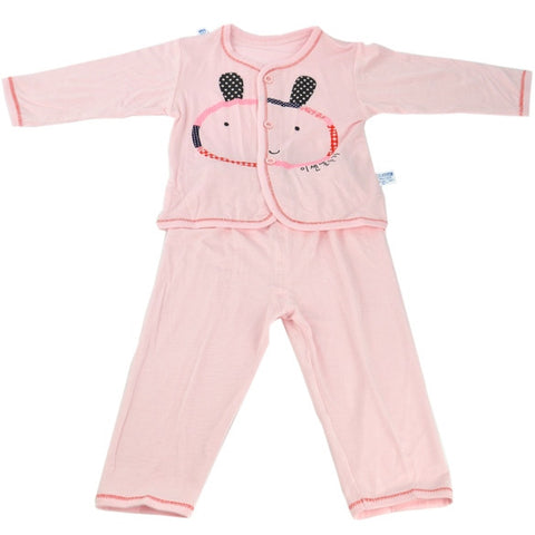 New Fashion New Infant Baby Cardigan 3-6 Months Long Sleeve T-Shirt + Pants Set