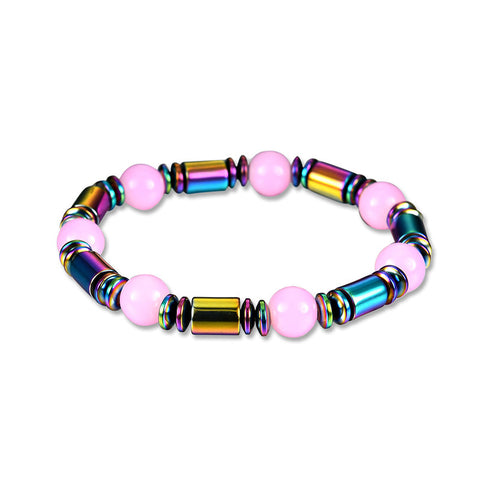 Retro Men's Bracelet Opal Magnet Colorful Bracelet