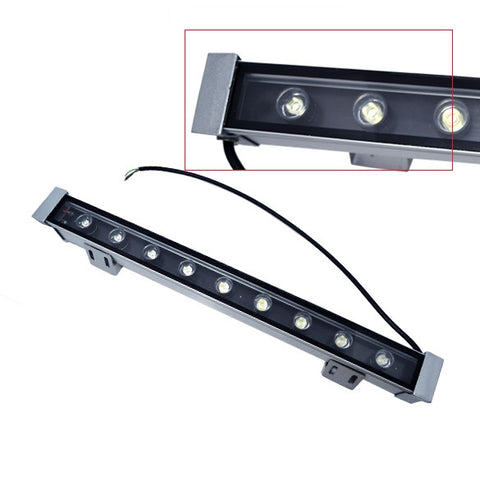 9x3W LED Wall Washer Light Cool White Lighting 85~265V