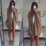 Oversized Loose Knit Sweaters Batwing Cardigans