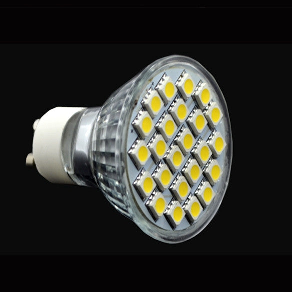 GU10 Warm White Focus 24-LED Bulb Spot Light Lamp 6W 200~240V