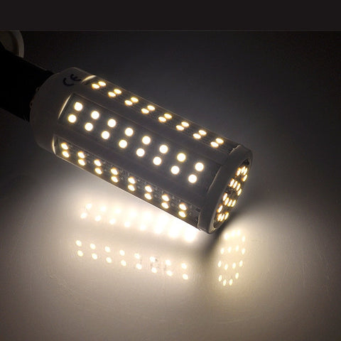 E14 5.5W 112 LED Warm White Light SMD 3528 Corn Bulb Lamp 550LM 3000~3500K 200V-240V