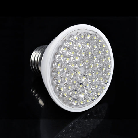 212LM 220V 3W E27 120° 60 LED Cold White Light Bulb Lamp