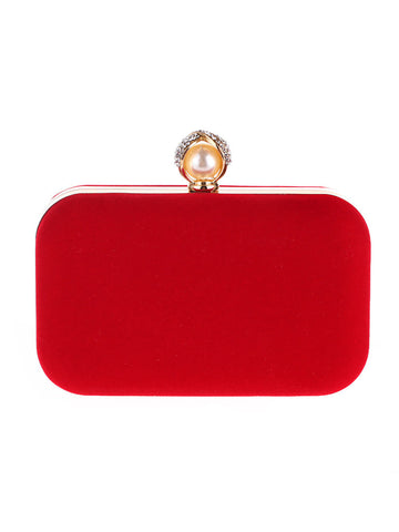 Pearl Basic Evening Clutch Bag