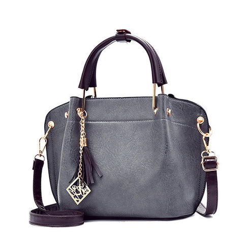 Women PU Leather Vintage Handbag Crossbody Bag
