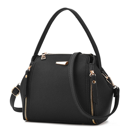 Stylish PU Leather Bucket Bag Handbag Shoulder Bag Crossbody Bags For Women