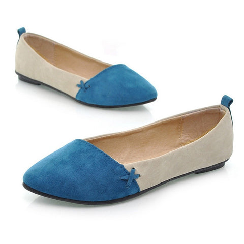 New Fashion Women Shoes Ballet Low Heels Flat Loafers Casual Comfort