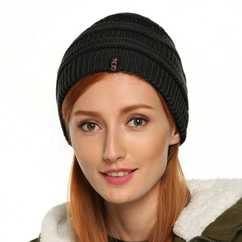Autumn/ Winter Warm Casual Unisex Knit Ski Hats Hip-Hop Beanie Cap Hat