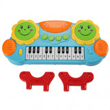 Baby Kids Educational Development Music Instrument Toy Battery Electronic Organ Keyboard Hand Beat Pat Drum Piano