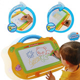 Baby Kids Erasable Magnetic Drawing Set Multicolor Painting Graffiti Board With Seal