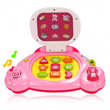 Baby Kids Intelligent Touch Learning Machine Laptop Toys