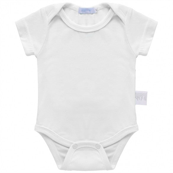 Baby Infant Unisex O-Neck Short Sleeve Bodysuits One-Pieces Rompers