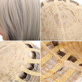 Women Long Wavy Hair Wig Fashion Cosplay + Wig Cap + Wig Comb