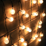 5M 30 LED String Light Solar Power Outdoor Party Christmas Decor Light
