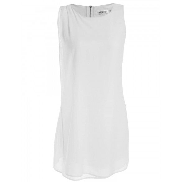 Women's Summer Sleeveless Chiffon A-Line Cocktail Party Dress