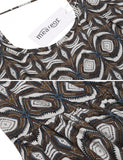 Women's Sexy Spaghetti Strap Backless Geometric Print Casual Dress