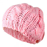 Beret Braided Baggy Beanie Crochet Hat Ski Cap Women Lady Fashion,multi-color