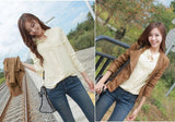 HOT Chiffon Blouses Fashion OL Shirts Long Sleeve For Women Summer Autumn Button Pocket Fashion Officer