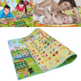 High Quality Child Play Mats Children's Learning Math Two-sided Crawling Pad Large Size: 160 * 200cm