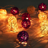 New Beautiful Colorful 30 LED Ball-Shaped String Fairy Lights 5CM*4M