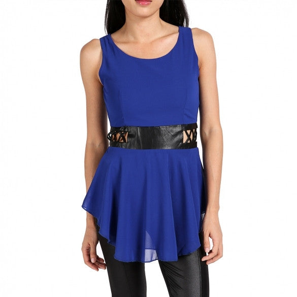 Fashion Women's Tops T-Shirts Blouse Casual Sleeveless Shirts