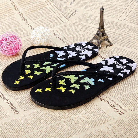 Fashion Women Casual Summer Beach Flip Flops Summer Flat Sandals