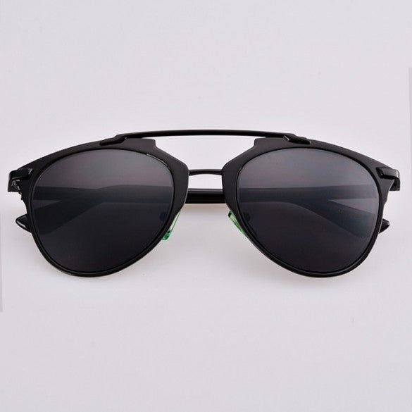 0ebfa84482ef Hot Fashion Lady Women s Retro Dual Horizontal Beam Full Frame Sunglasses –  Sheinchic.com