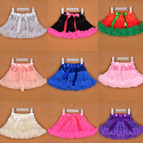 Fashion Kids Children Baby Girl Adjustable Elastic Waist Patchwork Bow Lovely Cute Tutu Skirt Photo Prop