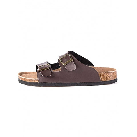 Birkenstocks Solid Fashion Beach Cork Soled Flat Sandals