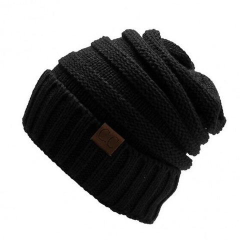 Winter Casual Unisex Men/ Women Knitted Ski Cap Solid Beanie Cap Hat
