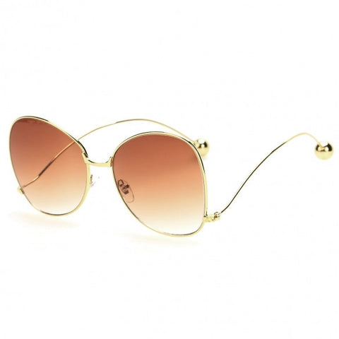 Slim Frame Cat Eye Stylish Sunglasses