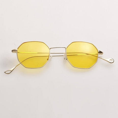 Resin Lens Polygonal Sunglasses
