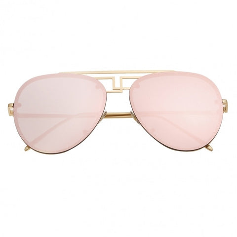 Double Bridges Retro Sunglasses