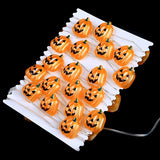 3M 40 LED Copper Wire String Light Halloween Pumpkin Battery Power Party Christmas Decor Light With Remote Control