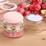5 Colors 3D Face Loose Powder Blush Blusher Soft Natural Cheek Makeup Cosmetics With Mirror Puff