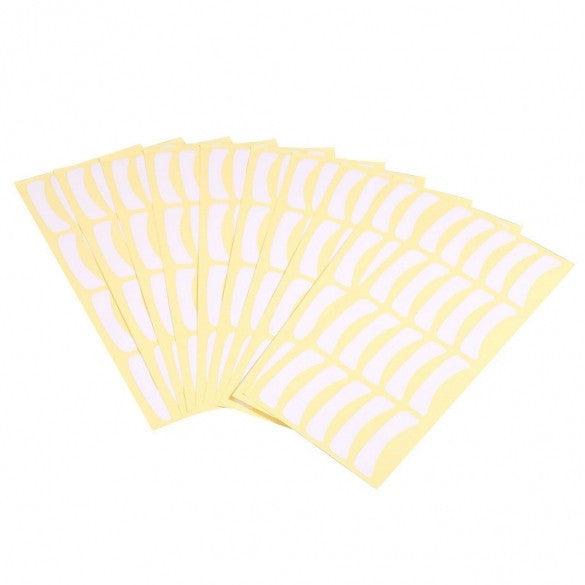 100 Pairs/ Pack Under Eye Tape Eyelash Extension Pads Paper Patches Make Up Tool