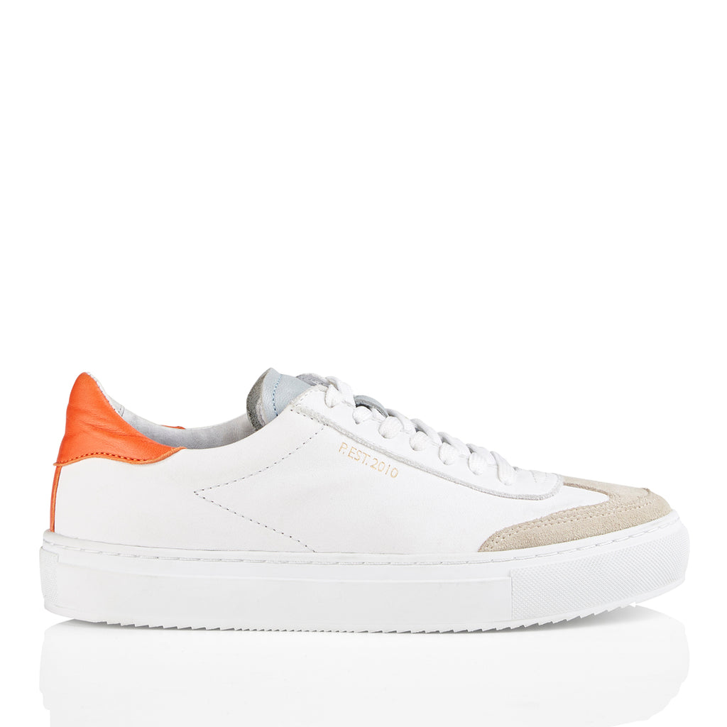Pavement Camille Sneakers White/Orange 503